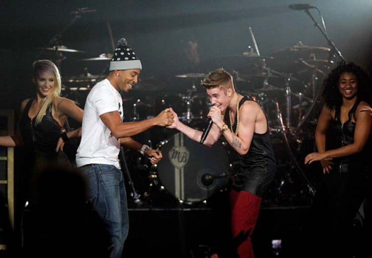 Justin Bieber and Ludacris